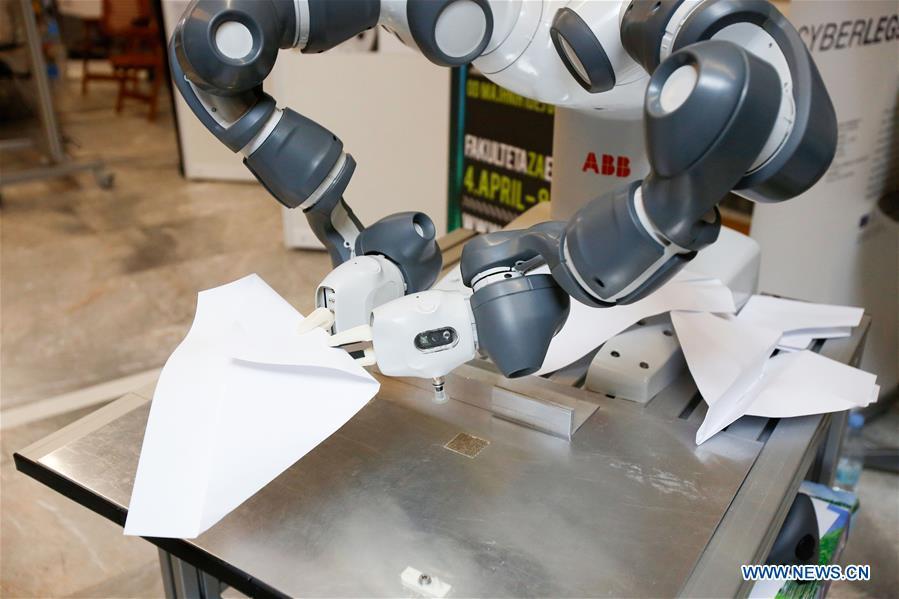 European Robotics Forum 2016 held in Slovenia- China org cn