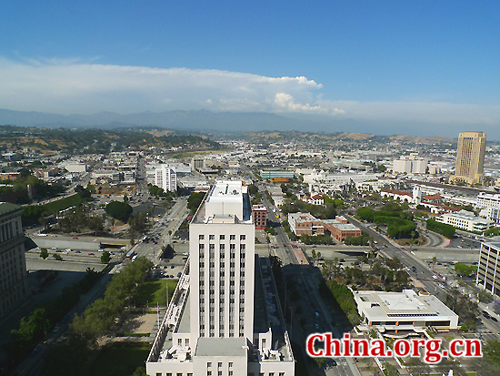 Los Angeles, US, one of the 'top 10 most expensive cities in the world' by China.org.cn.