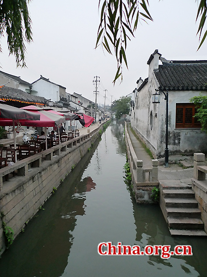 Suzhou, Jiangsu Province, one of the 'top 10 richest Chinese cities' by China.org.cn.