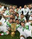 VfL Wolfsburg's last dance in muddy shoes