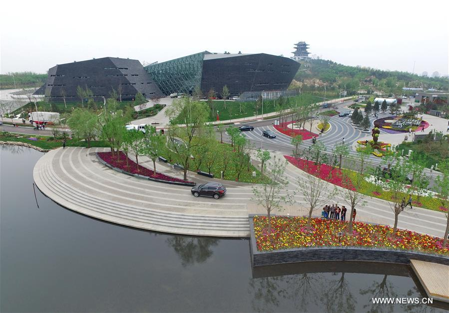 photo taken on april 27 2016 shows the china garden of the tangshan international horticultural exposition 2016 in tangshan city north chinas hebei - North China Garden