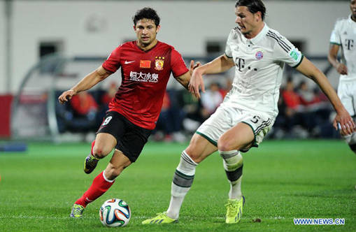 Elkeson now top foreign scorer in CSL history - 64 goals