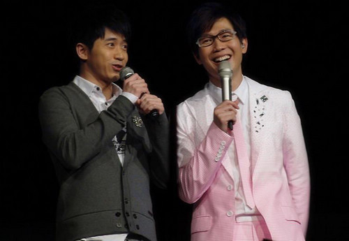 Michael and Victor, one of the 'Top 10 popular idol bands in China' by China.org.cn.