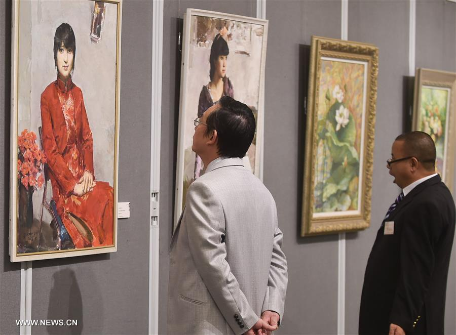 D Exhibition Hk : Chinese painting calligraphy exhibition held in hk