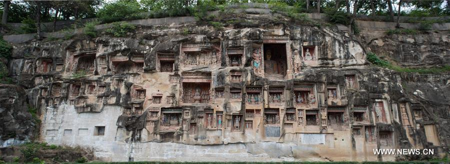 Bazhong China  city photos gallery : Bazhong Grottoes: Bring you back to Tang Dynasty China.org.cn