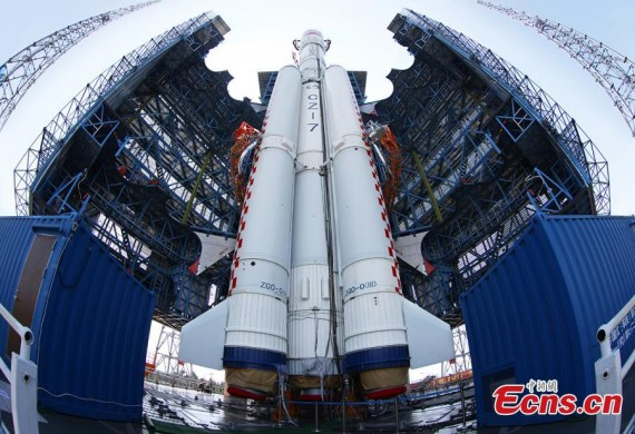 Rocket takes China closer to space station- China.org.cn