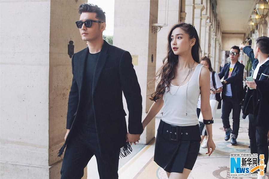 Xiaoming huang Is Angelababy