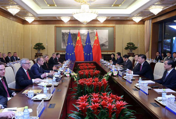 European Union and China discuss market access amid Brexit fallout
