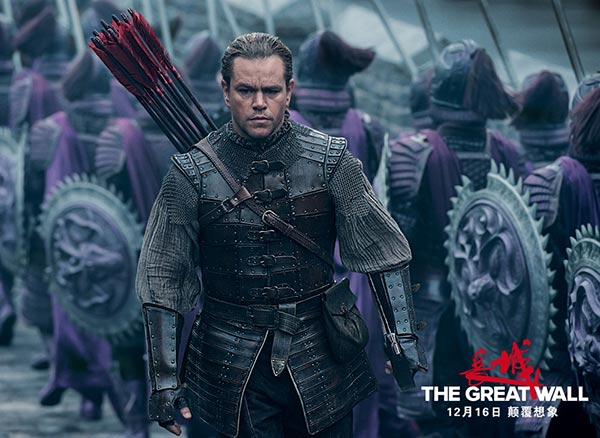 Zhang Yimou defends controversial casting of Matt Damon in The Great Wall