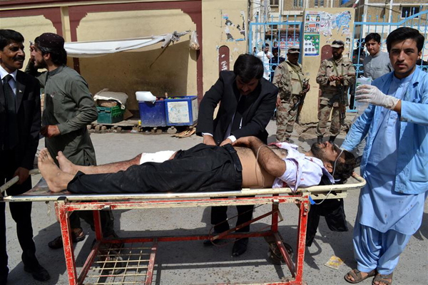 Ban condemns 'appalling' terrorist attack at hospital in Quetta