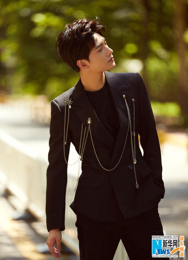 Actor Yang Yang Poses For Fashion Shots China Org Cn