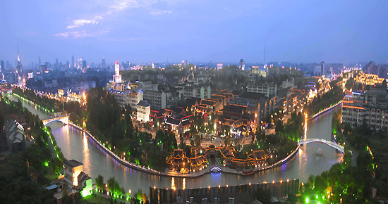 Yangzhou, Jiangsu Province, one of the 'top 10 cleanest cities in China' by China.org.cn.
