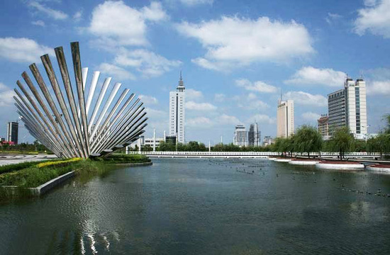 Binzhou, Shandong Province, one of the 'top 10 cleanest cities in China' by China.org.cn.