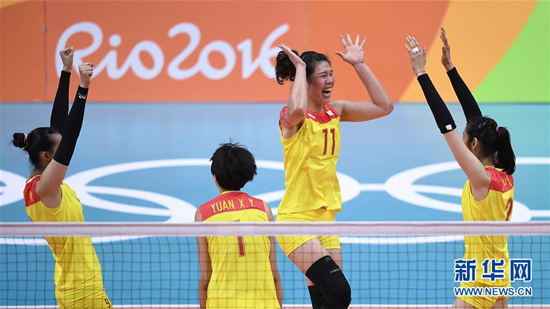 China captures women's volleyball gold, coach makes history