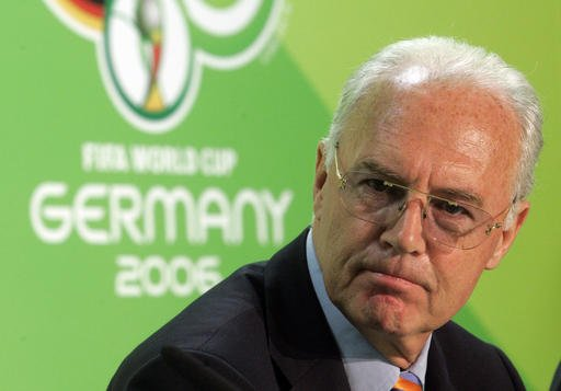 Swiss open 2006 World Cup criminal case against Beckenbauer