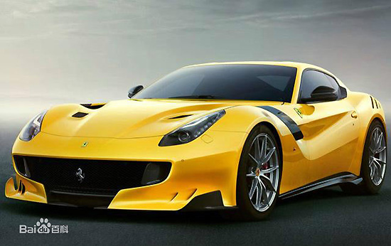 F12tdf, one of the 'top 10 fastest cars in the world' by China.org.cn.