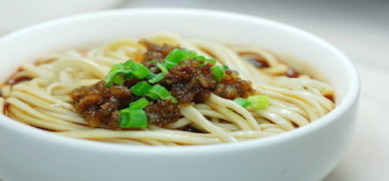 Dandan Noodles, one of the 'Top 10 renowned Chinese noodles' by China.org.cn.