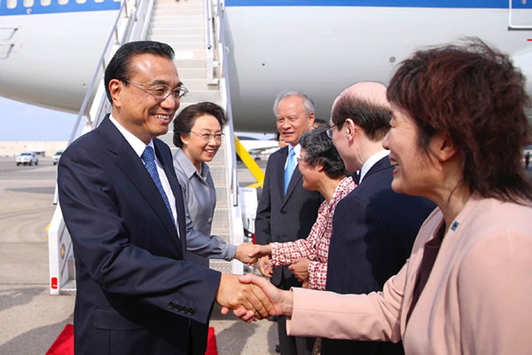 Chinese Premier Li Keqiang calls for 'win-win' cooperation with Canada