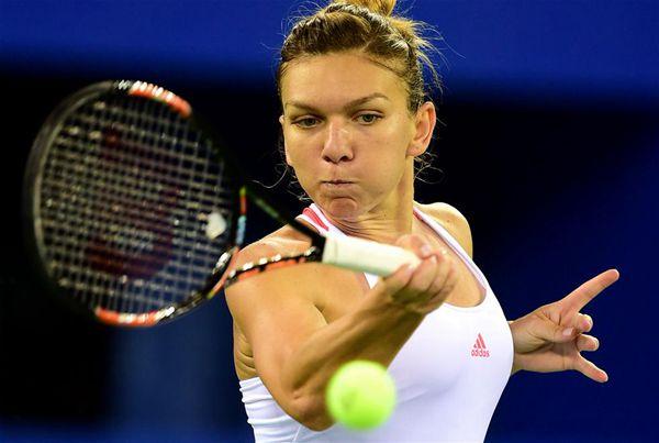 Halep meets Kvitova in Wuhan semifinals