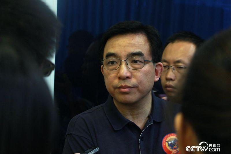 Zhu Congpeng, chief designer of China's space lab Tiangong-2. [Photo/CCTV.com]