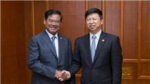 CPC senior official meets Cambodian delegation