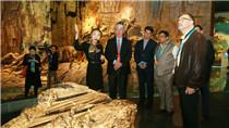 Delegates visit Three Gorges museum