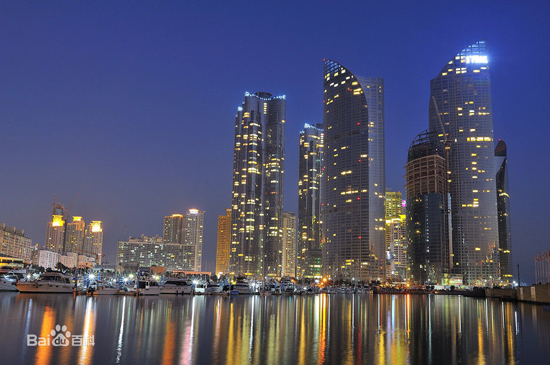 Busan, South Korea, one of the 'top 10 cities for Chinese short distance foreign travel' by China.org.cn.