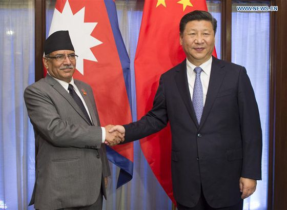 Nepali PM leaves for Goa to attend BRICS-BIMSTEC summit