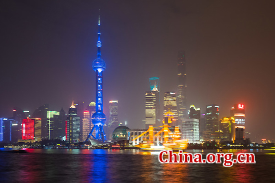 Shanghai, one of the 'top 10 Chinese provinces with highest living standard' by China.org.cn.