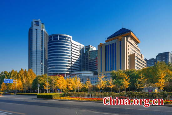 Beijing, one of the 'top 10 Chinese provinces with highest living standard' by China.org.cn.