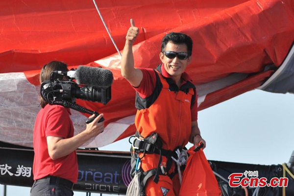 Chinese sailing team implores US to continue ocean search