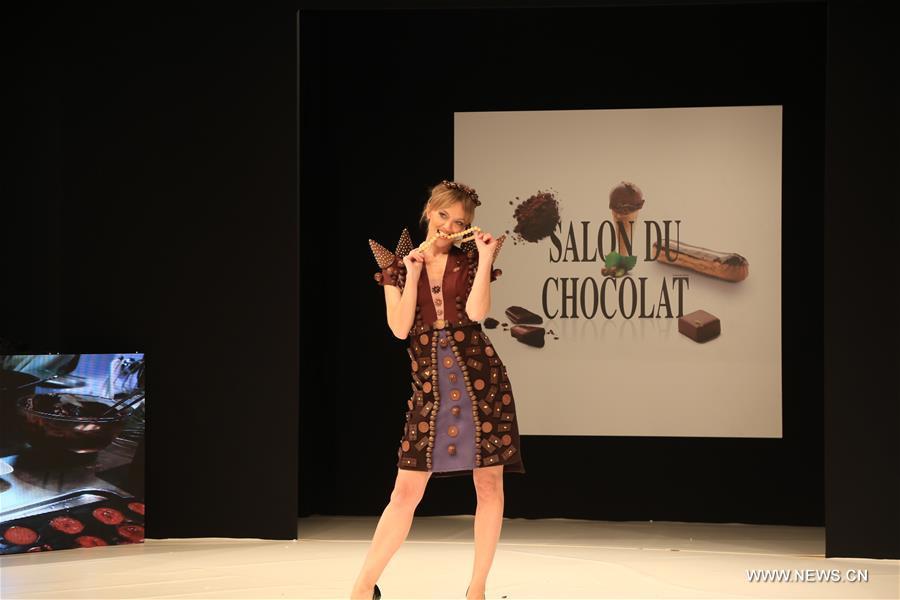 Salon du chocolat in paris kicks off for Salon du pain paris