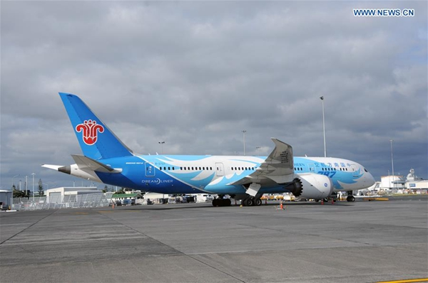 China southern flight makes emergency landing in nz - China southern airlines guangzhou office ...