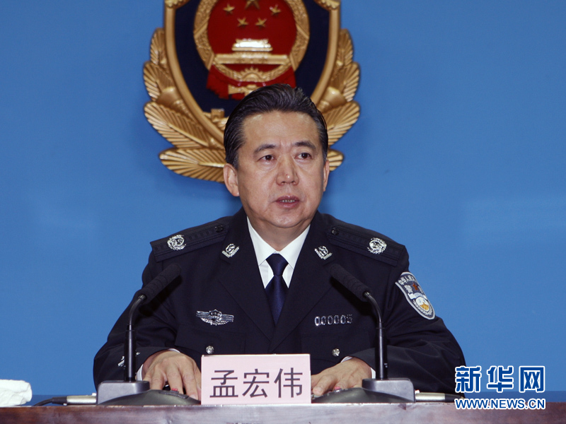 Interpol elects senior Chinese official as president