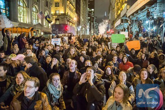 Anti-Trump Protests Surge Across Nation; 'Very Unfair,' Trump Tweets