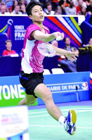 Chou Tien Chen, one of the 'top 10 men's singles badminton players' by China.org.cn.