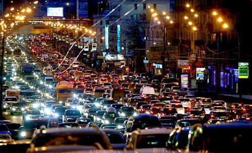 Chongqing, one of the 'top 10 Chinese cities with the worst jam' by China.org.cn.