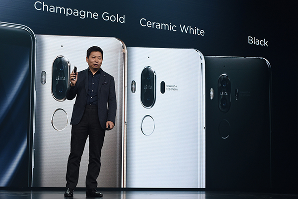 Huawei targets top-end market with its Mate 9 - China.org.cn