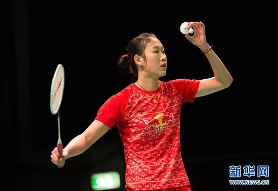 Sun Yu, one of the 'top 10 women's singles badminton players by China.org.cn.