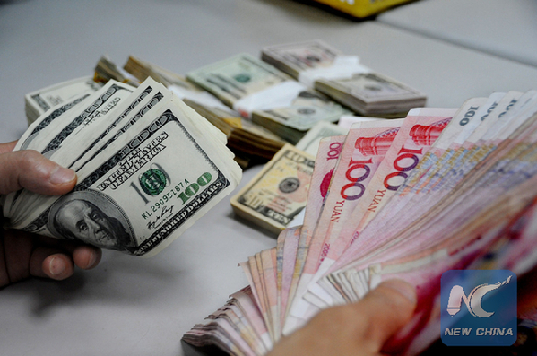 Yuan Falls to Eight-Year Low as Central Bank Cuts Reference Rate