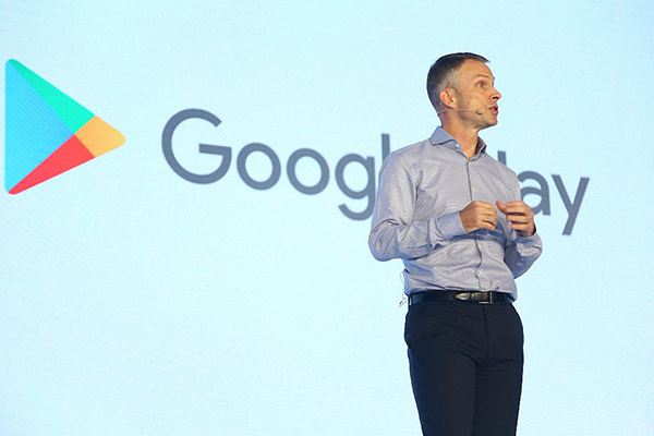 Scott Beaumont, president of Google Greater China. [Photo provided to China Daily]