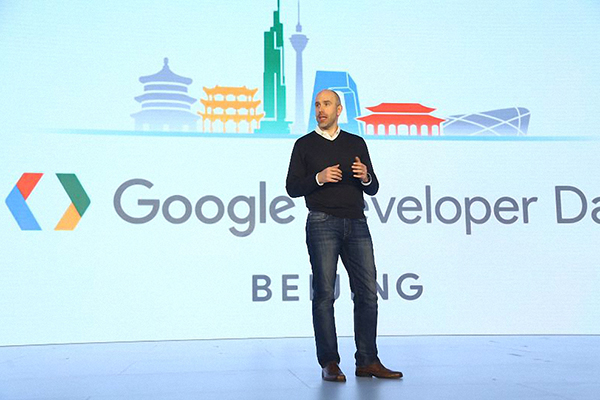 Ben Galbraith, head of product and developer relations at Google's developer product group. [Photo provided to China Daily]