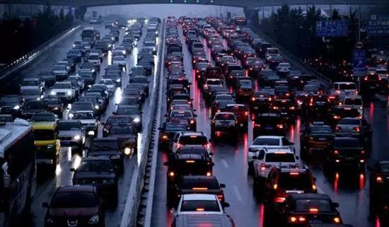 Guangzhou, Guangdong Province, one of the 'Top 10 Chinese cities with worst jam in 2016' by China.org.cn.