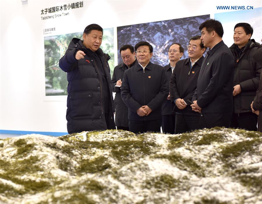 CHINA-XI JINPING-2022 WINTER OLYMPICS-INSPECTION (CN)