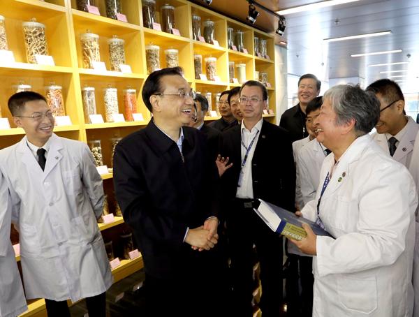 Premier Li visits Yunnan province