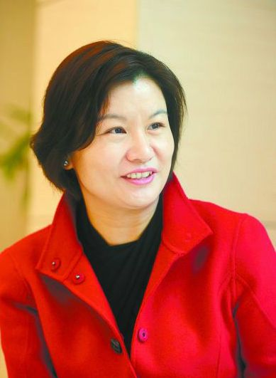 Zhou Qunfei, one of the 'Top 10 Chinese businesswomen in 2017' by China.org.cn