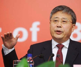 Guo is CBRC chief, sector upbeat