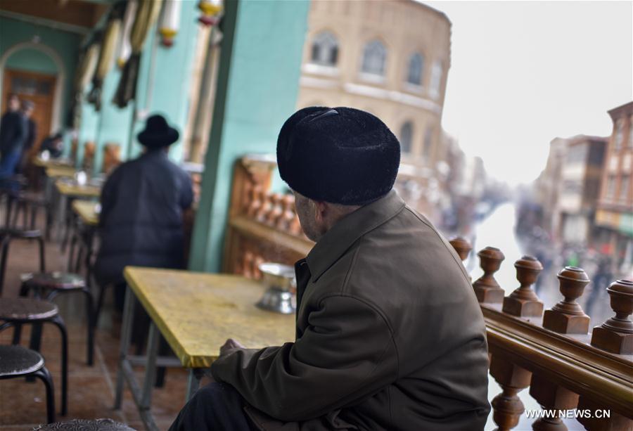 Tea culture in Kashgar, northwest China