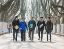 大学一寝室5人考研 初试成绩均超400分走红