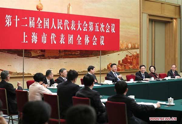 Xi calls on Shanghai to lead way